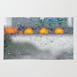 Rain. Rug