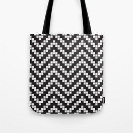 Herringbone Weave Seamless Pattern. Tote Bag