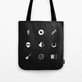 Tribute to Daft Punk, B&W. Tote Bag