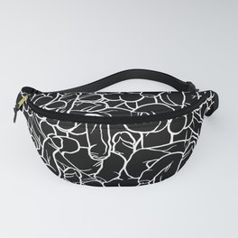 Schlong Song in Black, All the Penis! Fanny Pack
