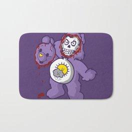 bi-polar care bear  Bath Mat