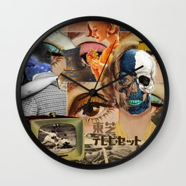 stagnant composition Wall Clock
