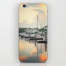 Little Pink Sailboat iPhone Skin