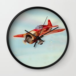 Old Soviet plane Wall Clock