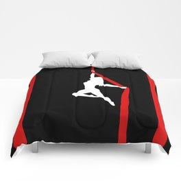 Aerialist Silks Spilt Sugar Comforters