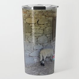 Being Watched by the Lamb Travel Mug