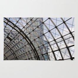 train station - glass - Berlin Rug