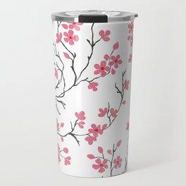 Cherry Blossom in Spring Travel Mug