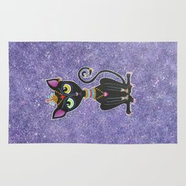 Baby Bastet, Egyptian Princess Rug