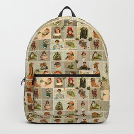Vintage Christmas Backpack