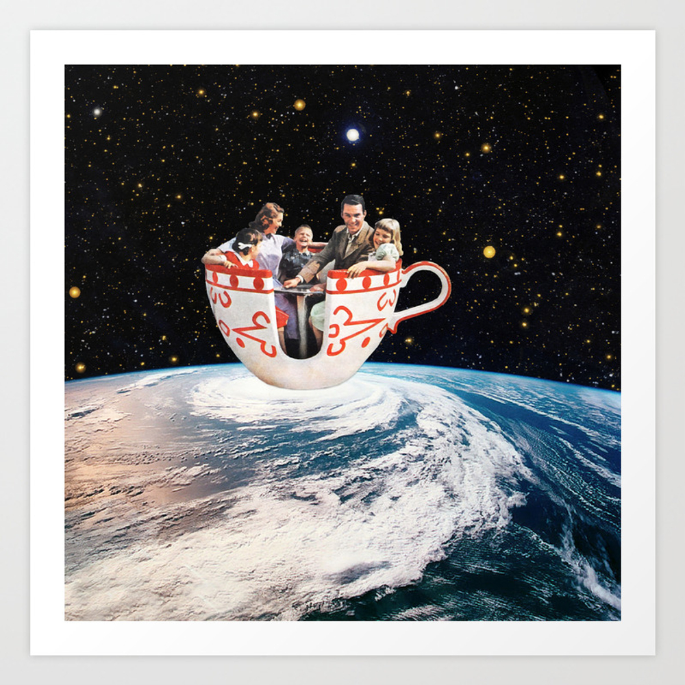 Storm In A Cup Art Print by Eugenialoli PRN2811735