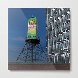 OZ Dairy Tank - LAV Metal Print