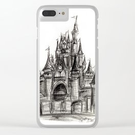 Cinderella's Castle Clear iPhone Case