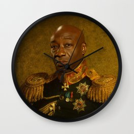 Michael Clarke Duncan - replaceface Wall Clock