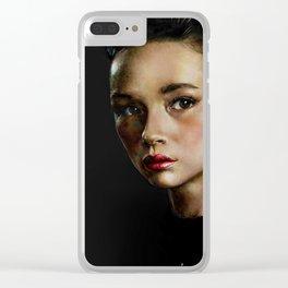 Allison Clear iPhone Case