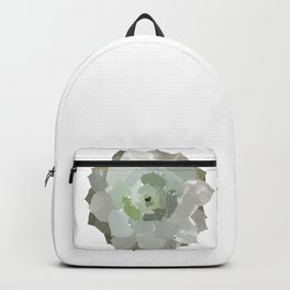 Watercolor Succulent Backpack