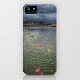 River of Flowers - Christchurch Earthquake iPhone Case