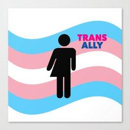 Transgender Canvas Print