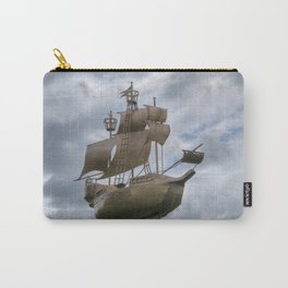 Sailing stormy skies Carry-All Pouch