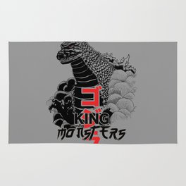 King of the monsters Rug