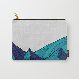 Geometric mountains Carry-All Pouch