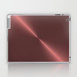 Metalic Pink Rose Gold Machined Metal Laptop & iPad Skin