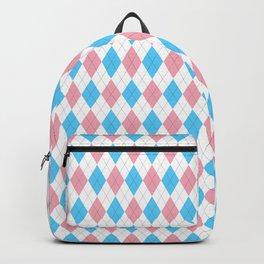 Transgender Argyle Backpack