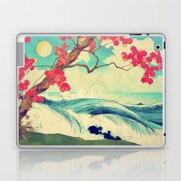 Waking to the Wild and Beautiful Ocean of Dhin Laptop & iPad Skin