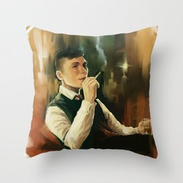 Tommy Shelby * Peaky Blinders Throw Pillow
