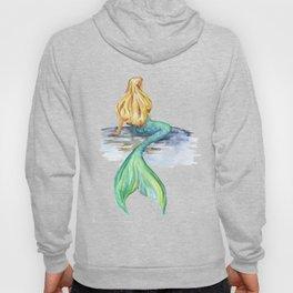 Mermaid Watercolor Hoody