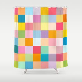 Candy colors Shower Curtain