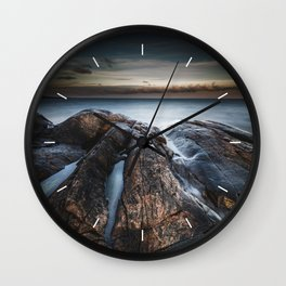 Creepers and crawlers Wall Clock