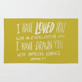 Everlasting Love x Mustard Rug