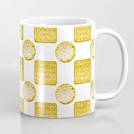 Savoury Biscuits Polka Dot Pattern Coffee Mug