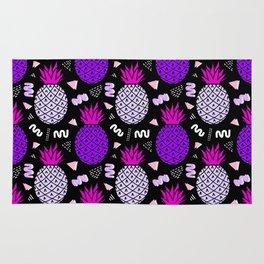 Memphis Pineapple Art Rug