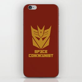 Space Communist iPhone Skin