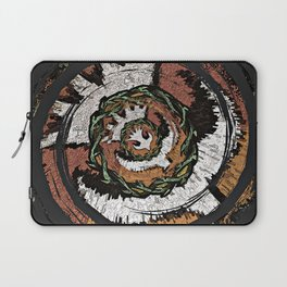 The Holy Dove & Crown Of Thorns Laptop Sleeve