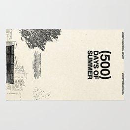 (500) Days of Summer Rug