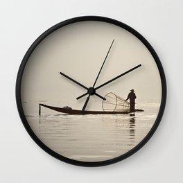 Inle Lake Myanmar Wall Clock