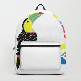 Birds on a seesaw Backpack