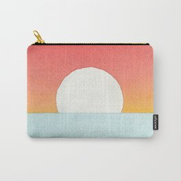 Sunset Watercolor Carry-All Pouch