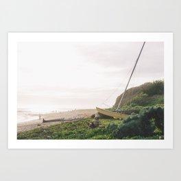 Catamaran no. 2 Art Print