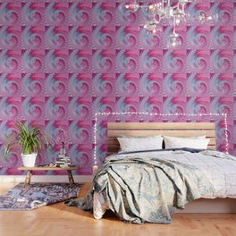 Crystal Spiral Abstract Wallpaper
