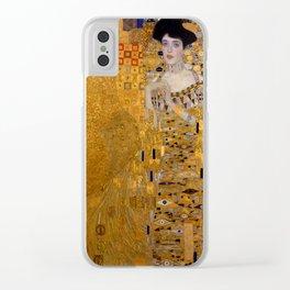 Adele Bloch-Bauer I by Gustav Klimt Clear iPhone Case