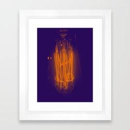 Purple Light Framed Art Print