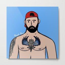 Beard Boy: Jose Santos Metal Print