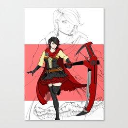 My Heart  Belongs to Ruby Canvas Print