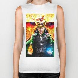 Loki - Ragnarok IV Eternal Flame Biker Tank