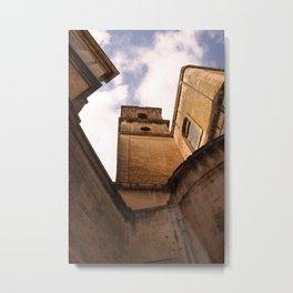 Italian Castle Metal Print