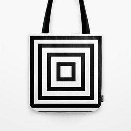 Black or White squares Tote Bag